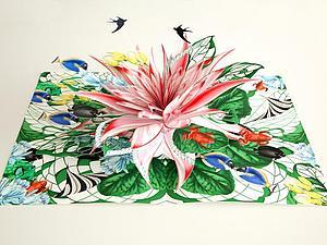 Невероятные многослойные иллюстрации от Bozka Rydlewska | Ярмарка Мастеров - ручная работа, handmade
