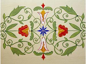 Расписываем мебель акриловыми красками. Ярмарка Мастеров - ручная работа, handmade.