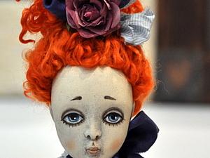 Будуарная  подвижная кукла из паперклея и других самоотвердевающих пластиков | Ярмарка Мастеров - ручная работа, handmade