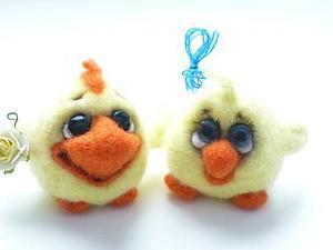 А у меня два новых цыпленка))!! | Ярмарка Мастеров - ручная работа, handmade