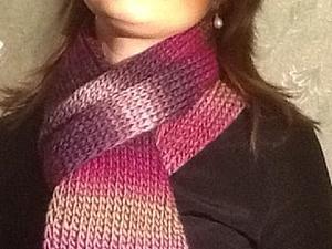 А какие шарфы вы предпочитаете? | Ярмарка Мастеров - ручная работа, handmade