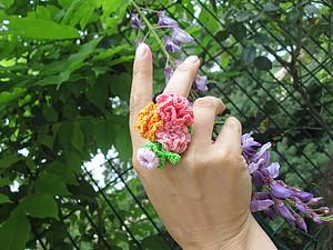 Букет на пальце   Ярмарка Мастеров - ручная работа, handmade