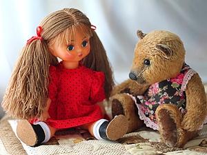 Новая жизнь куклы с трудной судьбой. | Ярмарка Мастеров - ручная работа, handmade