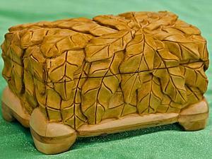 Изготовление шкатулки из липы с резьбой по дереву