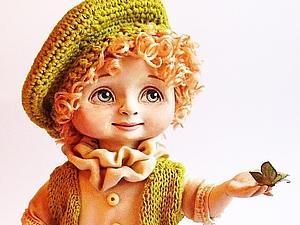 Мастер-класс по созданию куклы ЛЕТИ! Этап первый. Лепка головы.Роспись. Волосы.. Ярмарка Мастеров - ручная работа, handmade.