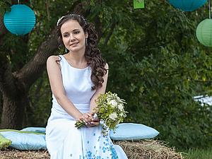 Цветные свадебные платья   Ярмарка Мастеров - ручная работа, handmade