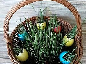 Делаем необычные пасхальный яйца. Ярмарка Мастеров - ручная работа, handmade.