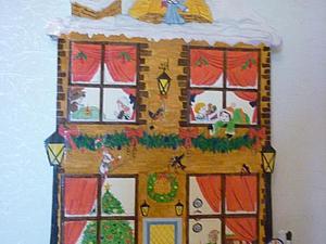 Адвент календарик своими руками | Ярмарка Мастеров - ручная работа, handmade