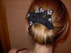 Делаем заколку для волос из витой пары. Ярмарка Мастеров - ручная работа, handmade.