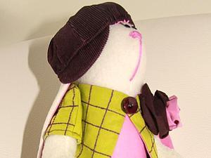 Шьем кепку для Зайки. Ярмарка Мастеров - ручная работа, handmade.