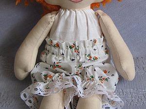 Шьем вручную носочки для куколки из обычных носков. Ярмарка Мастеров - ручная работа, handmade.