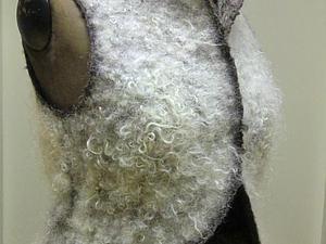 Жилет с отделкой флисом от Хайди Греб | Ярмарка Мастеров - ручная работа, handmade