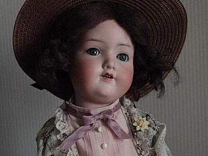 Соломенная шляпка прекрасной эпохи для куклы своими руками. Ярмарка Мастеров - ручная работа, handmade.
