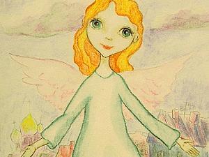 Ангел на благотворительном аукционе | Ярмарка Мастеров - ручная работа, handmade