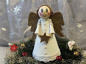 Мастер-класс по работе с фоамираном «Рождественский ангел». Ярмарка Мастеров - ручная работа, handmade.