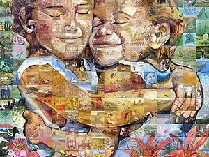 Мозаичные панно Льюиса Лаво (Lewis Lavoie) | Ярмарка Мастеров - ручная работа, handmade