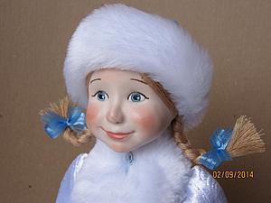 Девочка Снегурочка | Ярмарка Мастеров - ручная работа, handmade