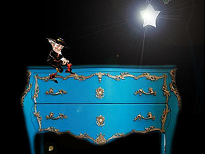 Звезда, комод и темнота | Ярмарка Мастеров - ручная работа, handmade