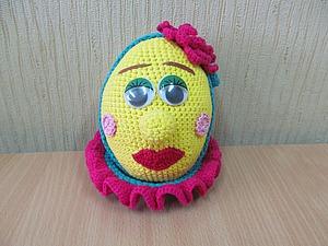 Вяжем мягкую игрушку «Яйцо «Мадам Фифи». Ярмарка Мастеров - ручная работа, handmade.