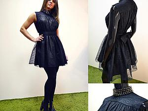 Конструируем и шьем платье по мотивам модели Yves Saint Laurent. Ярмарка Мастеров - ручная работа, handmade.