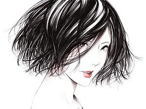 Прекрасные графические работы от Sawasawa. | Ярмарка Мастеров - ручная работа, handmade
