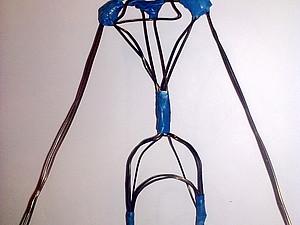 Создание проволочного каркаса для авторской куклы. Ярмарка Мастеров - ручная работа, handmade.