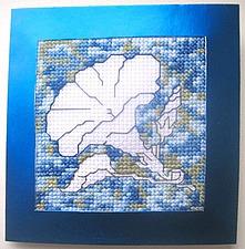 Мастерим открытку с вышивкой. Ярмарка Мастеров - ручная работа, handmade.