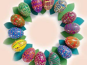Пасхальные венки. | Ярмарка Мастеров - ручная работа, handmade