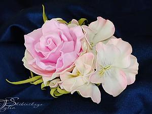 Приглашаем научиться делать цветы из фоамирана! | Ярмарка Мастеров - ручная работа, handmade