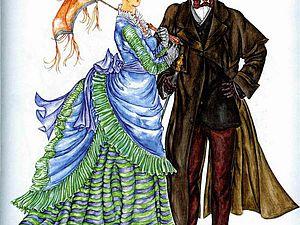 Мода девятнадцатого века: особенности женских нарядов. Ярмарка Мастеров - ручная работа, handmade.