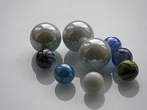 Делаем бусины из стеклянных шариков. Ярмарка Мастеров - ручная работа, handmade.