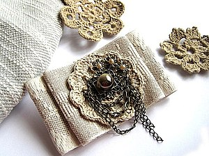 Брошь текстильная своими руками мастер класс