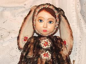 Моя первая Зайка тедди-долл | Ярмарка Мастеров - ручная работа, handmade