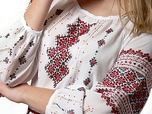 Русская народная вышивка в картинках
