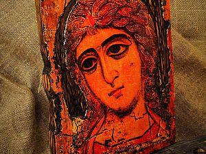 Архангел Гавриил (Ангел Златые Власы). XII век   Ярмарка Мастеров - ручная работа, handmade