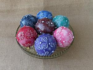 Как просто сделать кружевной шар. Ярмарка Мастеров - ручная работа, handmade.