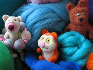 Мастер-класс по валянию игрушки | Ярмарка Мастеров - ручная работа, handmade