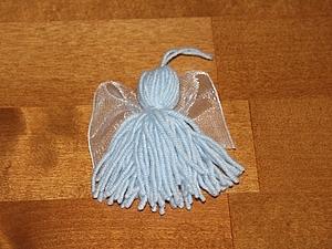 Ангелочек на счастье (Рождественский Ангел). | Ярмарка Мастеров - ручная работа, handmade
