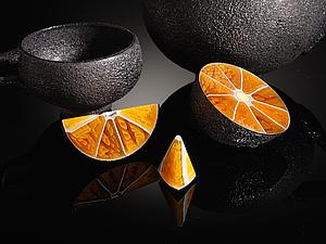 Стеклянные фрукты лондонского художника Elliot Walker: ошеломляющие скульптуры умелого мастера. Ярмарка Мастеров - ручная работа, handmade.