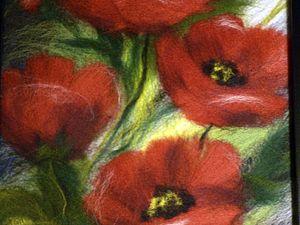 Мастер-класс по выкладыванию картин из шерсти | Ярмарка Мастеров - ручная работа, handmade