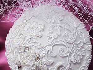 Распродажа свадебных вуалеток | Ярмарка Мастеров - ручная работа, handmade