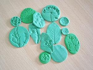 Штампы для полимерной глины / Polymer clay | Ярмарка Мастеров - ручная работа, handmade