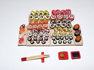 Видео мастер-класс: как сделать роллы и суши для кукол. Ярмарка Мастеров - ручная работа, handmade.