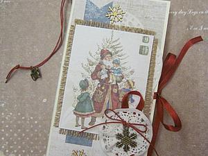 Мастерим новогоднюю шоколадницу-подвеску. Ярмарка Мастеров - ручная работа, handmade.