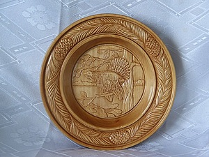 Мастер-класс. Резьба по дереву тарелки.. Ярмарка Мастеров - ручная работа, handmade.