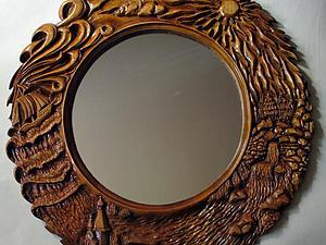 Процесс создания зеркала