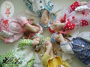 Мастер-класс Тильда Сонный Ангел пижама | Ярмарка Мастеров - ручная работа, handmade