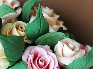 Мастер класс: делаем сердце из роз. Ярмарка Мастеров - ручная работа, handmade.