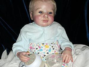 Малыш-реборн из молда Blaze от Donna RuBert | Ярмарка Мастеров - ручная работа, handmade