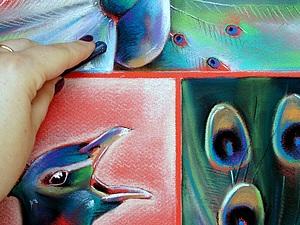 Рисуем пастелью: три в одном | Ярмарка Мастеров - ручная работа, handmade
